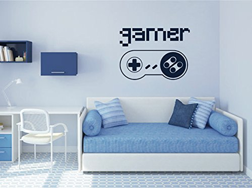 ik2546-Wall-Decal-Sticker-controller-console-Xbox-360-Game-PS4-player-bedroom-teens