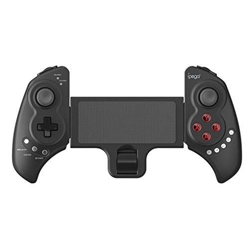 Price comparison product image EgalBest IPEGA PG-9023 Telescopic Wireless Bluetooth Controller Gamepad Handle Joystick for Android iOS PC APP Game