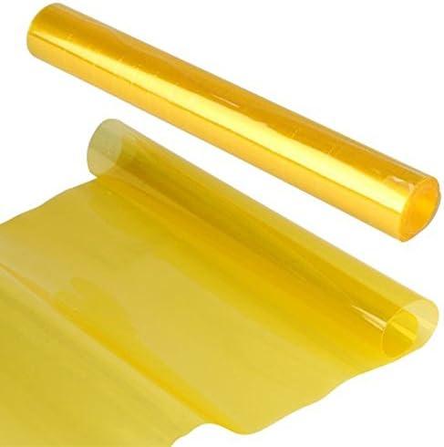 VORCOOL Film autocollant jaune pour phares Phares de voiture et moto pour d/écoration et protection de 30/x 120/cm