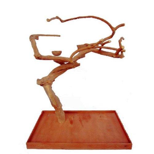 A&E Cage Company Medium Single Java Tree ? 48?x 28? x 66? Java Wood