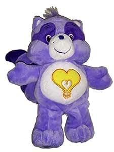 "Bright Heart Racoon Care Bear Cousins 8"" Plush"