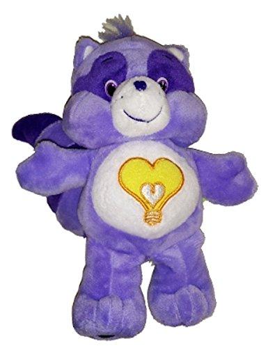 Care Bear Cousins Bright Heart Racoon 8 Inch (Care Bear Tummy Symbols)