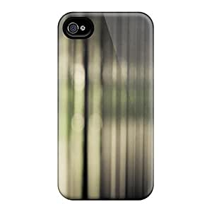 Premium IvYrlDb8725oGbQM Case With Scratch-resistant/ Unfocused Nature Case Cover For Iphone 4/4s
