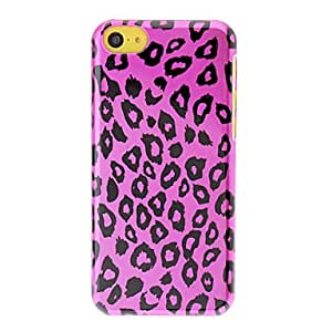 Rose Leopard Print Pattern Polished PC Hard Case for iPhone 5C