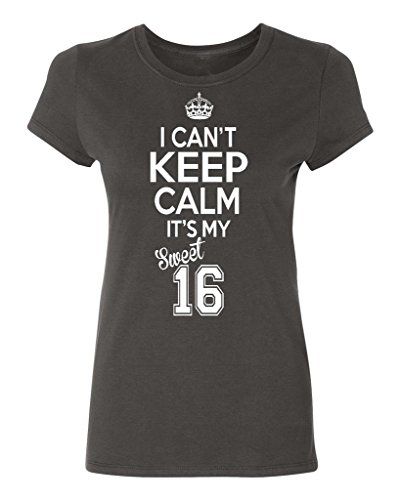(P&B Sweet Sixteen It's My Birthday! Women's T-Shirt, XL,)