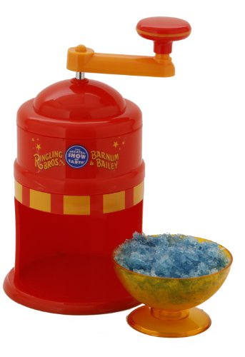 Ringling Brothers Snow Cone Maker, Red - APP-81236 by Ringling Brothers