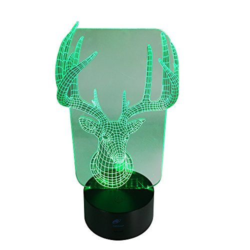Lightahead Illusion changing Decoration Reindeer