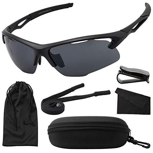 MAXJULI Sports Sunglasses Running Baseball