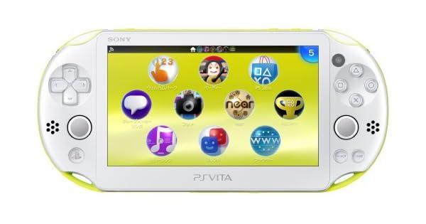 Amazon.com: PS Vita Slim - Lime Green / White - Wi-fi (PCH ...
