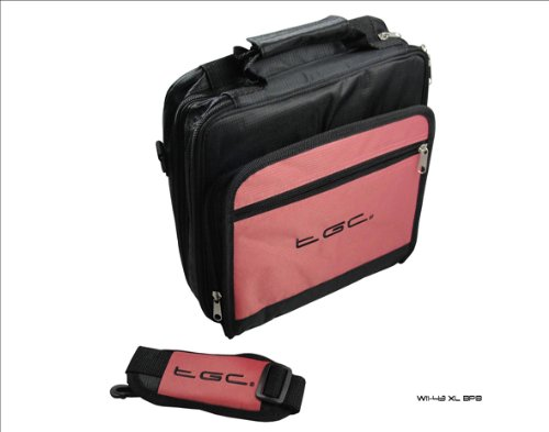 for Galaxy New Fi Deluxe Case Tablet Baby Twin Wi Carry Black compartment Bag Pink Samsung and qFvqwxgB