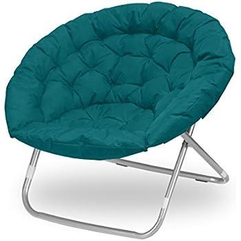 Amazon Com Urban Shop Oversized Saucer Chair Teal Toys