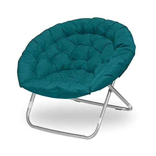 Attirant Urban Shop Oversized Saucer Chair, Teal