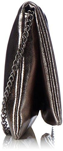 s.Oliver (Bags) 7f.709.94.4478 - Carteras de mano Mujer Gris (Dark Pewter Metallic)