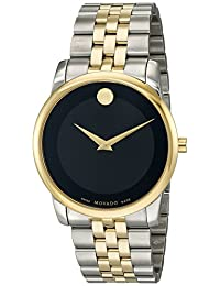 Movado Men's 0606899 Analog Display Swiss Quartz Two Tone Watch