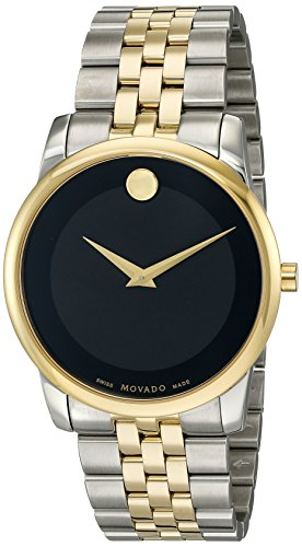 Movado Museum Mens - Movado Men's Swiss Quartz Stainless Steel Casual Watch (Model: 0606899)