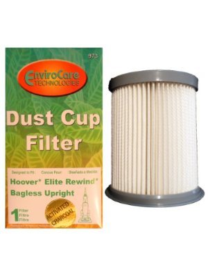 (1) Hoover Pleated Elite Rewind Fusion HEPA Filter, Upright, Bagless Deluxe Vacuum Cleaners, U5507900, U5507950, U5509900, U5511900, UH40070, U5509900, U5509-900, U5507-950, U5507900, U5507-900, U5509-900