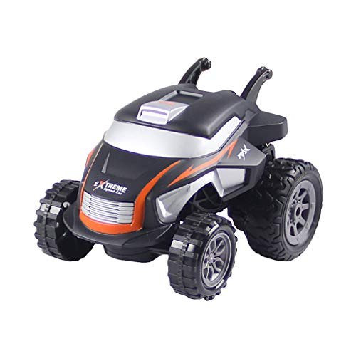FILOL Remote Control RC Car, Terrain RC Cars, Electric Remote Control Off Road Monster Truck, Wireless RC Auto 2.4G Tumbling Stunt Dump Truck Watch Remote Control Stunt Car - Drive Pulley Tail