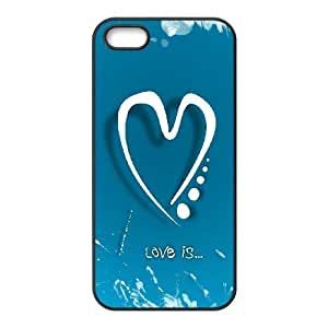 Cool Painting love The Unique Printing Art Custom Phone Case for Iphone 5,5S,diy cover case case604496