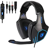 SADES 819 Gaming Headset for PS4 New Xbox One Gaming...