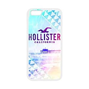 HOLLISTER LOGO 02 funda iPhone 6 Plus 5.5 pufunda LGadas funda del teléfono celular de cubierta blanca, funda del teléfono celular de plástico