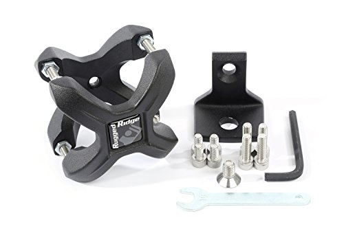 Rugged Ridge 11031.20 Textured Black X-Clamp for 1.25-2