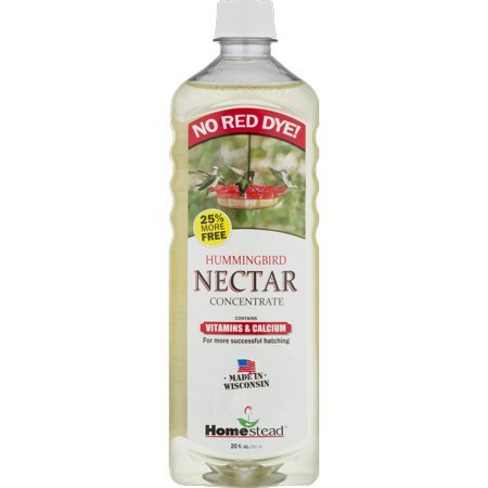 Homestead 20 oz Hummingbird Clear Liquid Nectar (4781) - Pack of 2