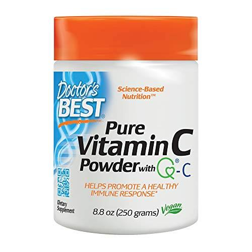 (Doctor's Best Vitamin C with Quali-C, Non-GMO, Gluten Free, Vegan, Soy Free, Sourced from Scotland, 250 Grams)