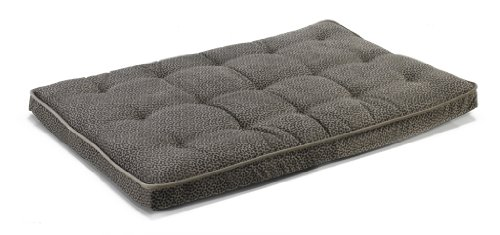Luxury Crate Mattress in Pewter Bones and Thunder Fabric
