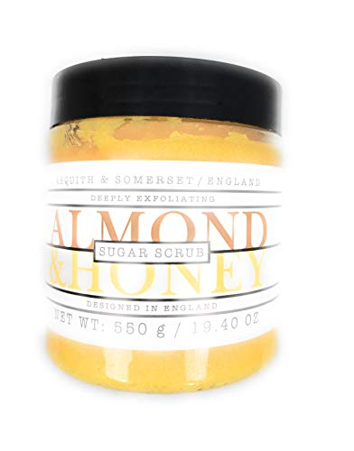 Asquith & Somerset Almond & Honey Sugar Scrub 19.4 OZ. (Honey Almond Sugar Scrub)