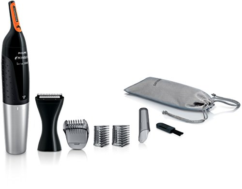 Cut Trimmer - Philips NT5175/49 Norelco Nose trimmer 5100 Facial Hair Precision Trimmer for Men
