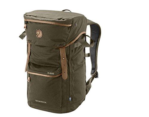 Fjallraven – Stubben Backpack for Outdoor Activities, Dark Olive