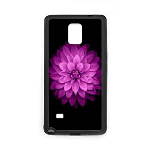 Vety Beautiful Lotus 6 Case for Samsung Galaxy Note 4, with Black