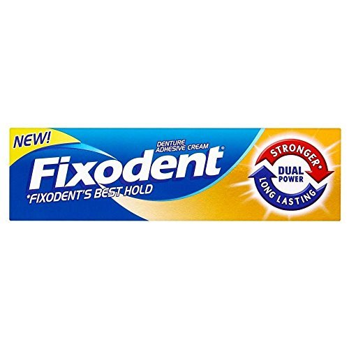 Fixodent Denture Adhesive Cream Dual Power (35ml) - Pack of 6 by Fixodent by Grocery (Image #1)