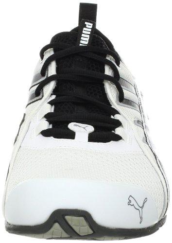 Puma Heren Voltaic 4 Vervaag Loopschoen Wit / Zwart / Donker Schaduw