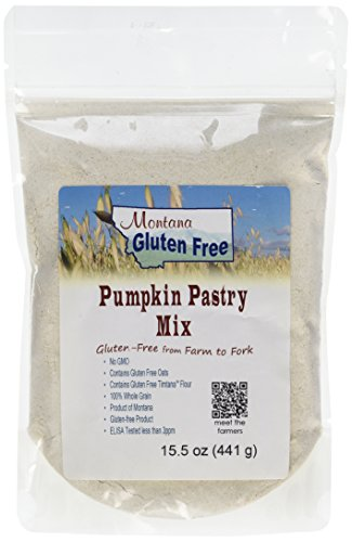 Montana Gluten Free Pumpkin Pastry Mix, 15.5 Ounce (Canned Baking Soda compare prices)