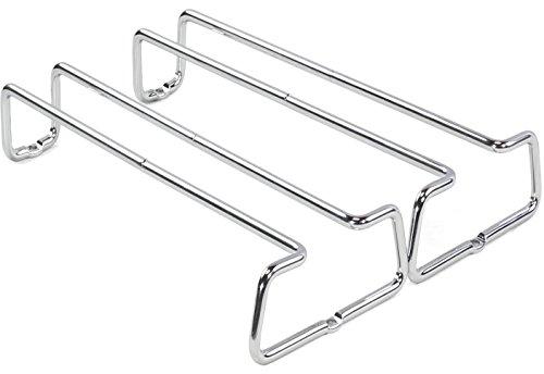 DecoBros Single Stemware Holder Chrome