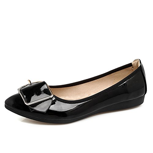 Pictures of Meeshine Women's Pointed Ballet Flats Soft 1
