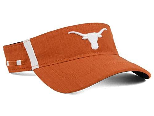NCAA Texas Longhorns Visor Hat Cap - Burnt Orange