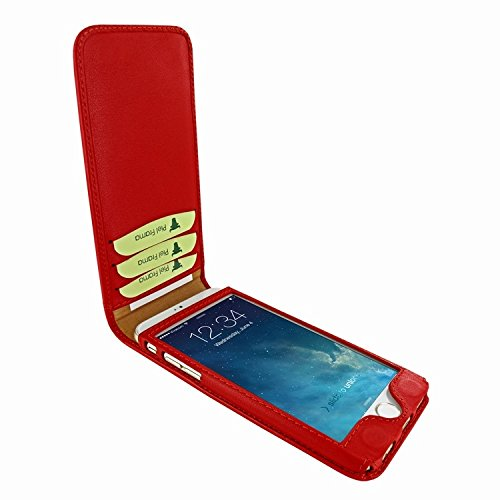 Piel Frama 689 Red Magnetic Leather Case for Apple iPhone 6 Plus / 6S Plus by Piel Frama