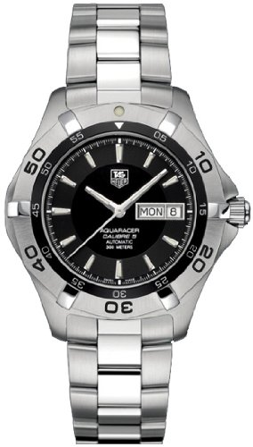 Tag Heuerメンズwaf2010。ba0818 2000 Aquaracer Calibre 5 Automatic Watch B001CRLFUO
