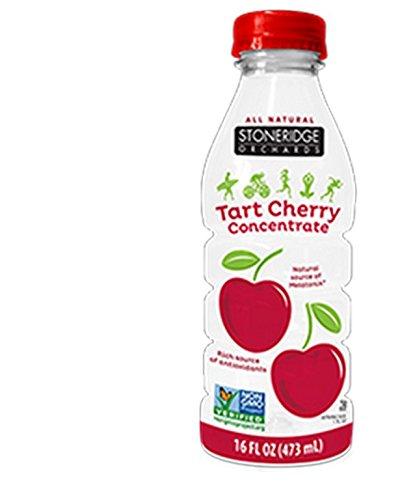 STONERIDGE ORCHARDS, JUICE, OG2, TART CHRRY, CONC, Pack of 6, Size 16 FZ - No Artificial Ingredients Gluten Free GMO Free Kosher Low Sodium Wheat Free 95%+ Organic