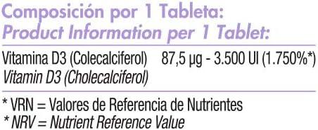 NeoVit D3 | Suplemento con 3,500 U.I. de vitamina D en forma de D3 ...