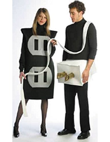 Plug and Socket Set Costume Set - One Size - Chest Size 42-48 (Couples Costumes)