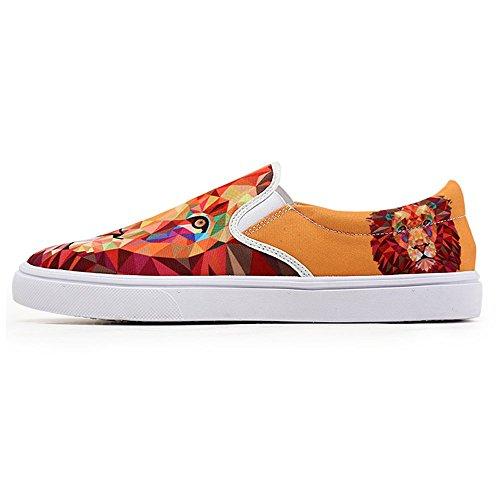 Eerste Dans Dierlijke Leeuwenprint Instappers Loafer Schoenen Voor Dames Zomerslippers Sneaker