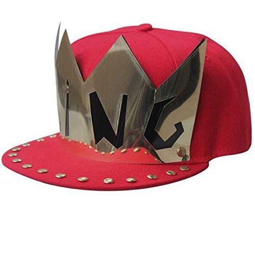 nanxsontm-new-unique-king-unisex-hip-hop-baseball-sunhat-cap-mzw0036