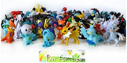 Generic Pokemon Go 24 Pokemon Mini Figures In A Set