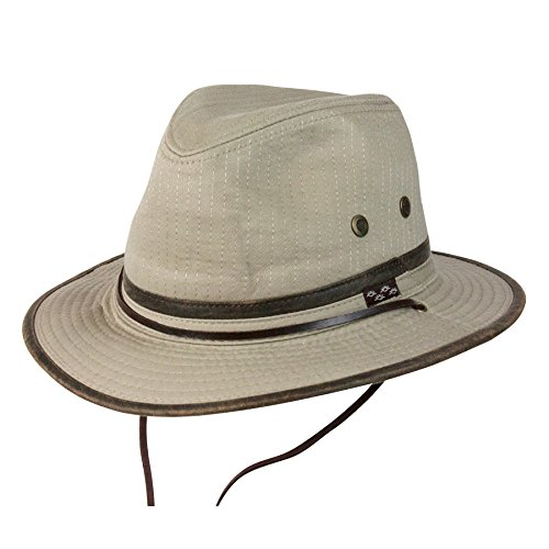 Conner Hats Mens Oak Tree Island Outdoor Hat  Khaki  M