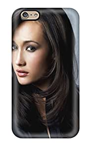 New Celebrity Women Maggie Q People Women Tpu Case Cover, Anti-scratch EfQMDNi1238BHMAg Phone Case For Iphone 6