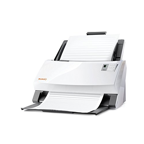 Ambir ImageScan Pro 940u (DS940-AS) 40ppm High-Speed Document Scanner with UltraSonic Misfeed Detection by Ambir