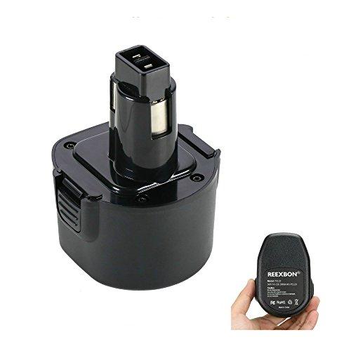 9.6V Replacement Battery For Black& Decker PS120 FireStorm FS432 FS96 HP131 HP131K-2 HP231 HP9060 KC96CE PS310 PS320 PS3200 Q115 SX2000 TV230 Fit Dewalt Dw9061 (9.6V 2.0Ah Ni-Cd)